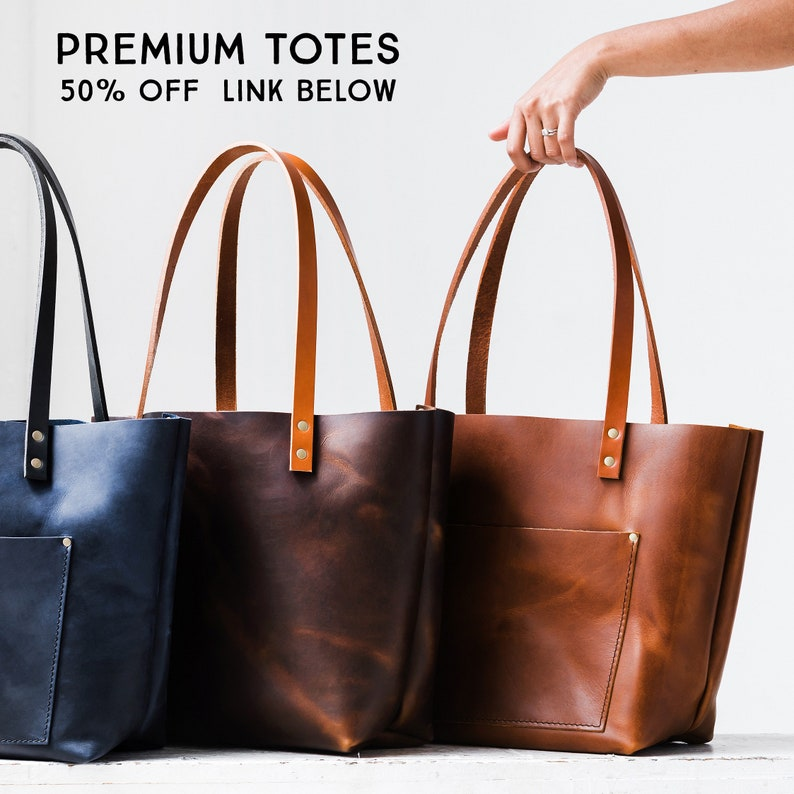60% Off ALMOST PERFECT  Totes Leather Bag  HUGE Sale Tote image 9