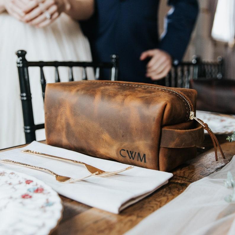 d1ed6bbe9 Personalized Groomsmen Gift A Dopp Kit Travel Bag Custom | Etsy
