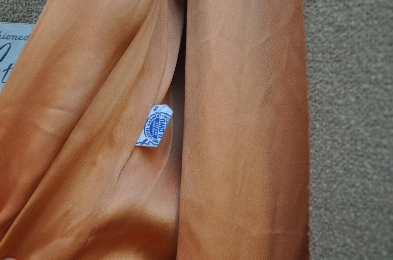 Sz L Vintage 60/'s Tan Wool Stylecraft for J.Malnick Coat with Mink Fur Collar