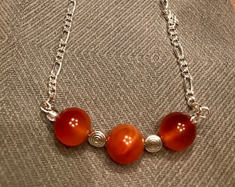 Necklace -- Red Globes