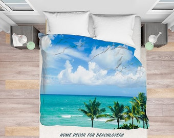 Beach Duvet Cover Etsy