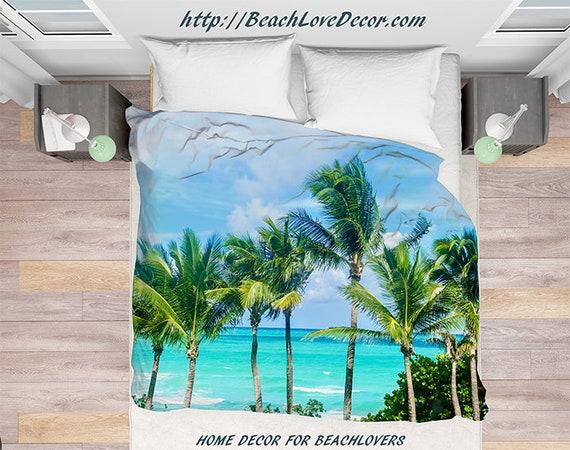 articles similaires palmiers palm de housse de couette arbres miami beach en floride palmiers. Black Bedroom Furniture Sets. Home Design Ideas