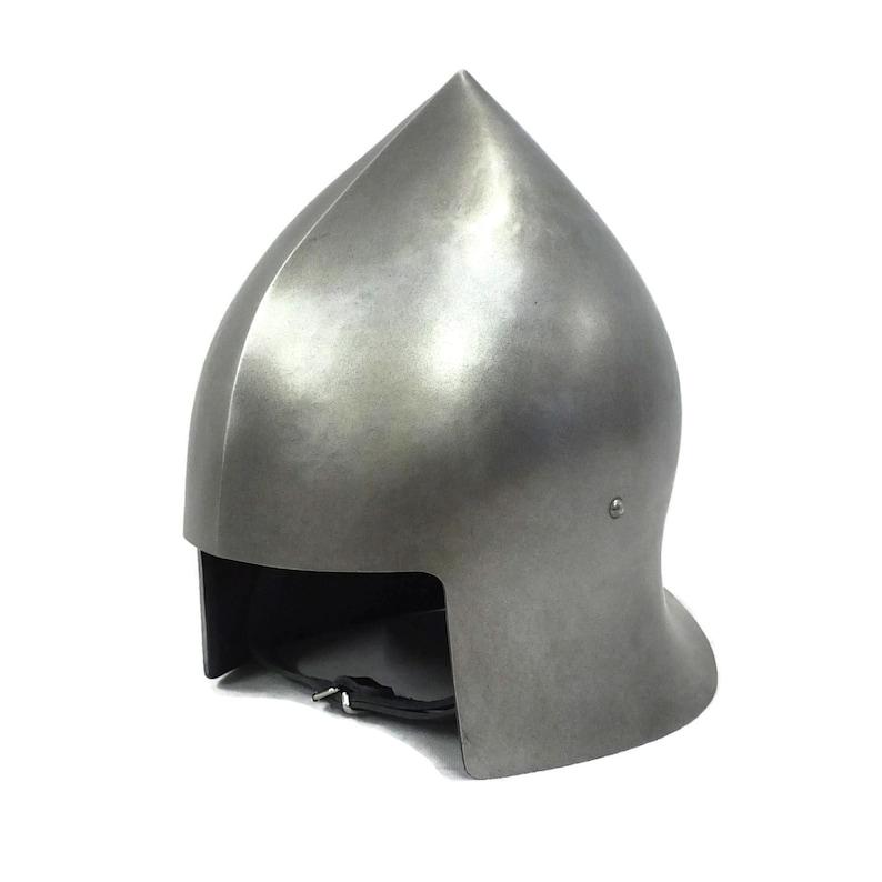Larp Armor Medieval Open Face Sallet