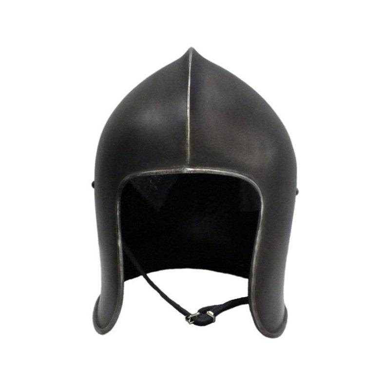 Larp Armor, Medieval Barbute Helmet