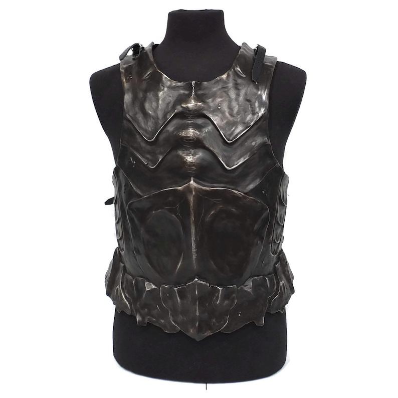Larp Armor Carapace Orc Chitin Bone Body Armor Chest