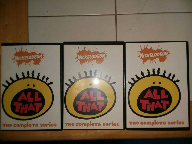 All That The Complete Series 12 DVD Set