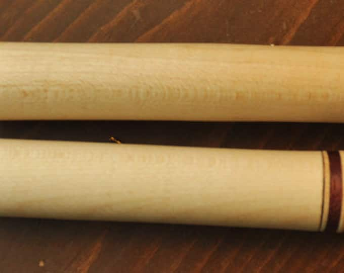 Set of 2 maple wood needle cases for 3-3/4  inch long  needles and 3-1/2 inch long needles