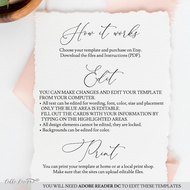 Editabel Bridal Shower Template Blush Welcome Sign PDF Instant Download Printable Sign Greenery Florals Caroline
