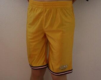 Vintage Tommy Hilfiger kurze Hose Hip Hop Style TOMMY HILFIGER jungen Sport Shorts gelb Kinder Hose Größe 5 kleine Größe