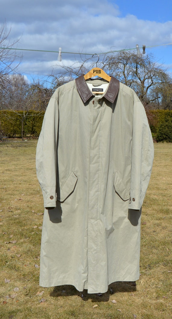 Homme Trench OversizedEtsy Manteau Long Marlboro Coat PikZuOX