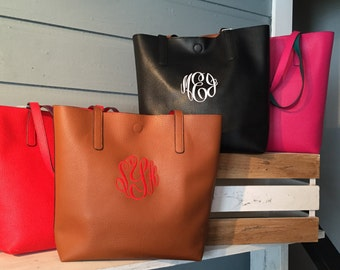 Reversible Monogrammed Purse!  Adorable- great for the fall!