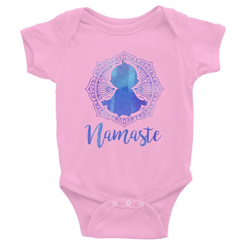 Namaste Yoga Baby Newborn Bodysuit Infant Bodysuit