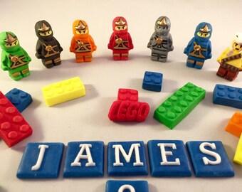 Edible Lego Ninjago Cake Topper decorations