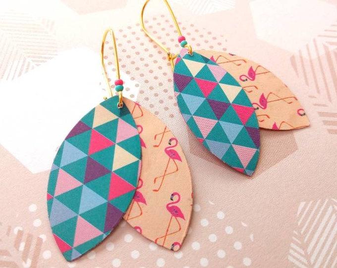 Sleepers leather Flemish Scandinavian triangles