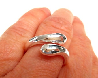 925 adjustable silver ring