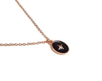 Chain chain medal polar enamel enamel epoxy ONYX