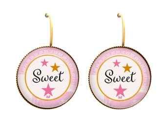 Sleepy buckles cabochon Sweet gift woman
