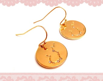 STRASS ETOILES Medal Loops