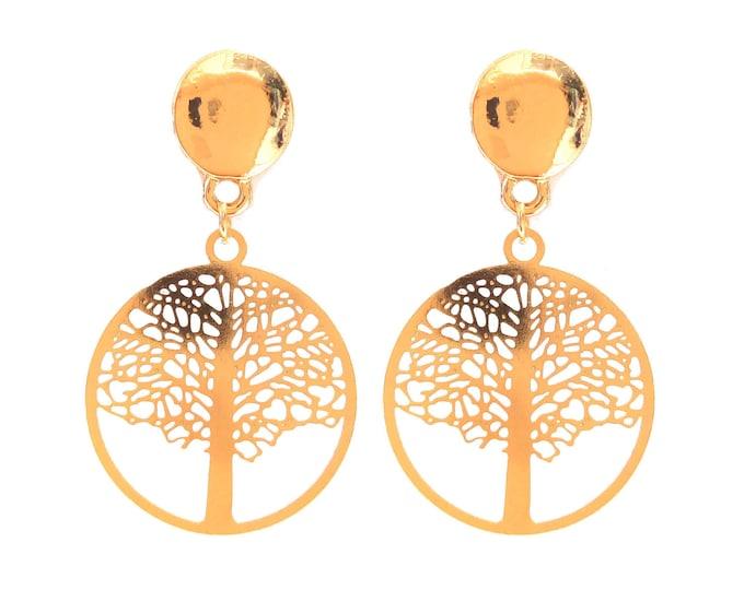 Brass rings tree of life