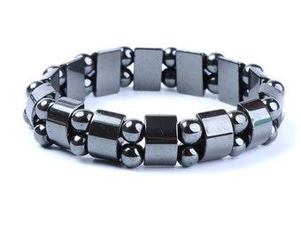 Mixed weight loss bracelet hematitis double rank balance well-being