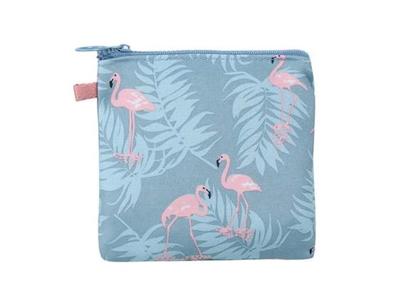 Make-up flamingos pink toiletry bag