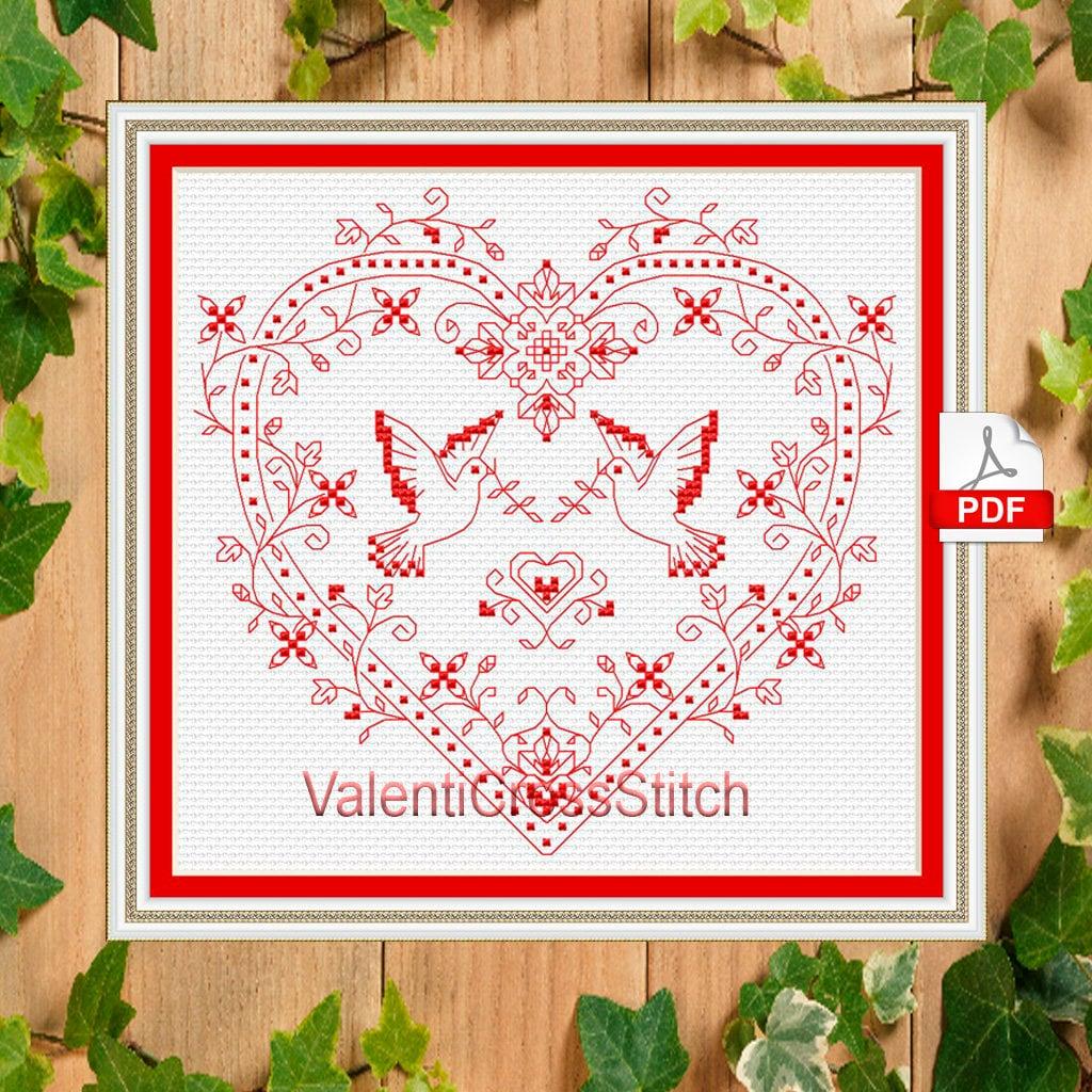 Love pattern rainbow cross stitch patterns #sp 32 Modern patterns I Love You Cross Stitch Pattern Heart Cross Stitch pattern