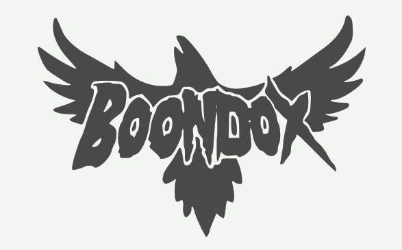 Boondox Inside Crow Juggalo Ninja Vinyl Sticker Huge 5