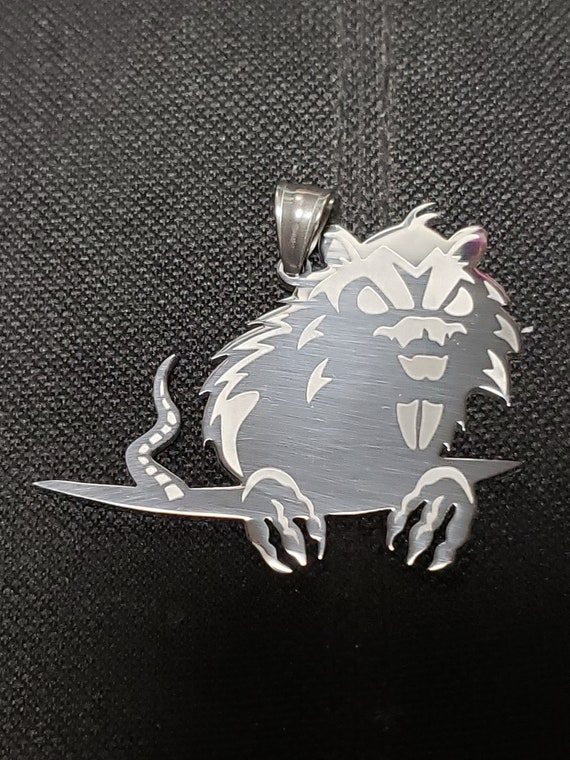 FLIP THE RAT icp Insane Clown Posse fff fearless fred fury Stainless Steel Charm twiztid rare  juggolo juggalette