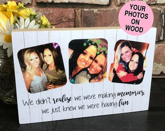 Best Friend Birthday Gift Personalised Funny Quote Photo Gifts For Friends