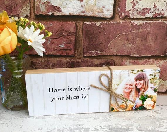 Personalised Birthday Gifts for Mum Mummy Mother Birthday Presents PHOTO Blocks