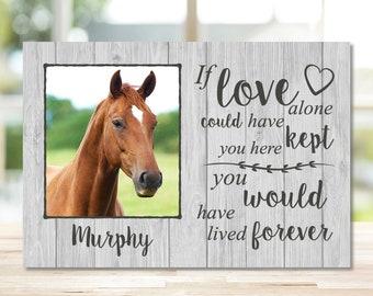 Horse Memorial Gift, Horse Remembrance, Horses, Gift for Horse Lover, Horse Gift, Horse Lovers Gift, Pet Memorial, Horse Sympathy, Memorial
