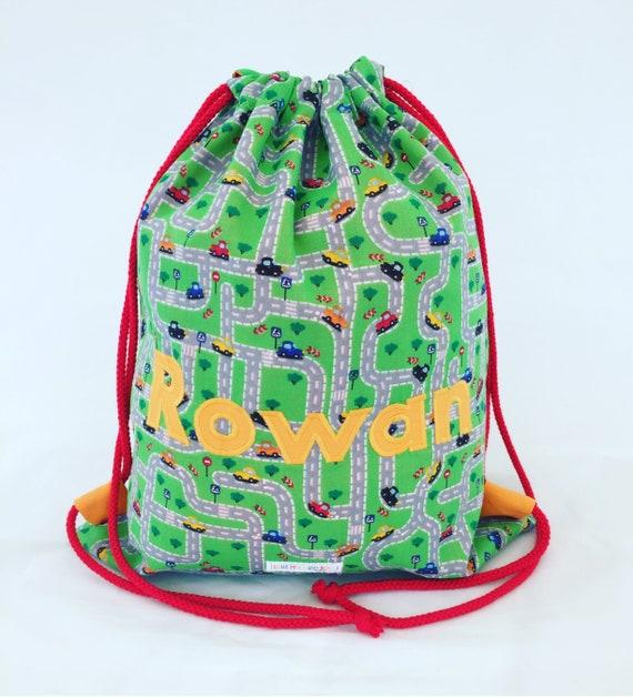 Personalised Car Bag Children s PE Bag Vehicle Swim Bag   Etsy 996077ca0f