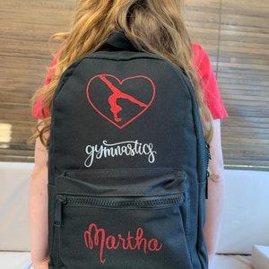 Rhythmic Gymnastics Backpack \u00b7 Star Backpack \u00b7 Black Backpack For Girls \u00b7 Minimalist Backpack \u00b7 Gymnastics Bag \u00b7 Backpack With Sequins