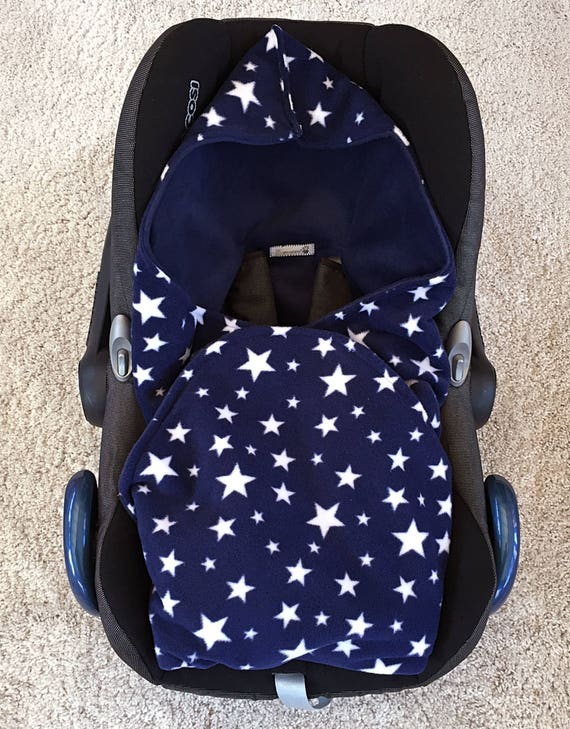 Universal Baby Car Seat Blanket Hooded Baby Car Seat Blanket Etsy