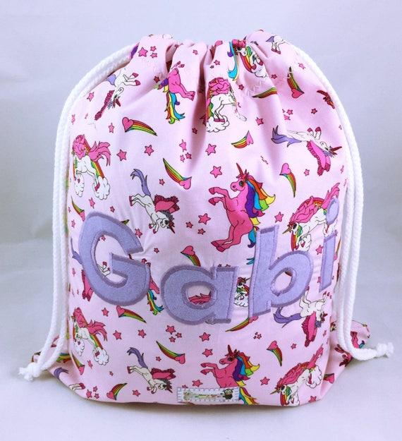 PERSONALISED GIRLS//BOYS SWIMMING//SWIM//PE//SCHOOL// BAG /& BATH TOWEL SET MERMAID