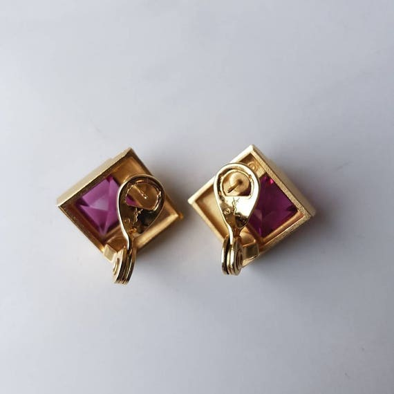 Vintage YSL earrings - image 2