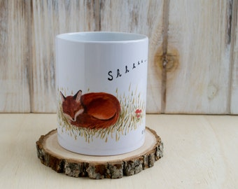 Woodland Fox Mug for Coffee + Tea