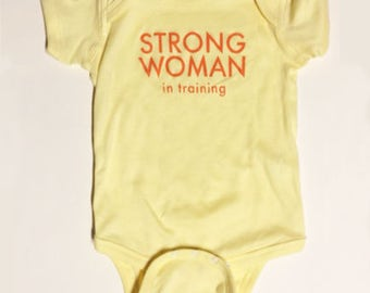 Strong Woman In Training