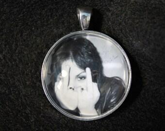 Joan Jett Pendant - Keychain