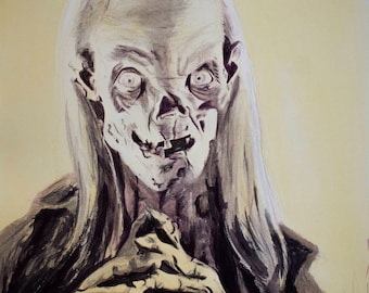 Tales From the Crypt - Horror - Artist Signed Fine Art Print Movie Monsters