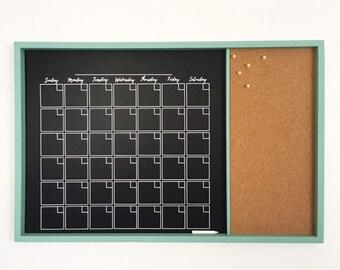 Chalkboard Corkboard Etsy