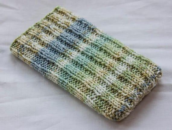 Phone Sockcase Hand Knitted Phone Sleeve Phone Case Etsy