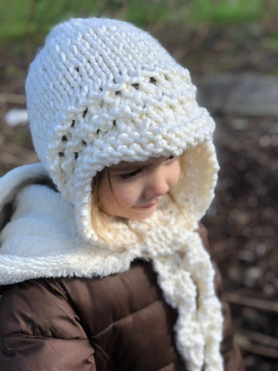 Knitted Hood Patternknit Patternknit Pattern Lory Knit Etsy