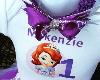 Princess Sofia Tutu Set Purple