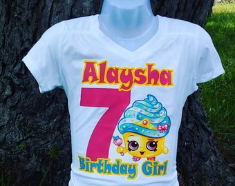 Shopkin Birthday Girl Tshirt