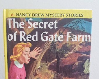 Nancy Drew #6 The Secret of Red Gate Farm | Hardcover | 1961 | Vintage | Adventure | Mystery Book