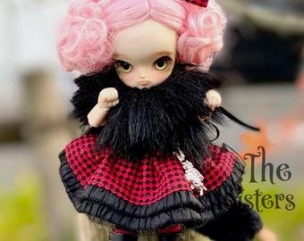 Little Alice cat dress set for obitsu 11 cm