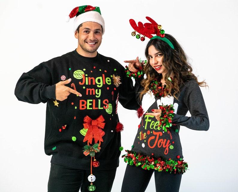 Ugly Christmas Sweater Couples Ugly Christmas Sweater Feel image 0