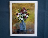 PHLOX IN VASE -  Set of 5 Blank Note Cards - 13.50/ (includes shipping)