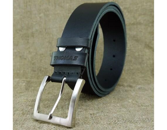 Personnalisé cadeaux d anniversaire de ceinture en cuir pour homme  personnalisé cadeau pour cadeau lui la ... 7c53c3ee2f8